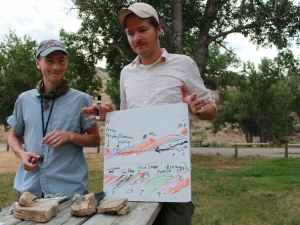 Gabe Yapuncich (PhD candidate) – Wind River Canyon, Wyoming