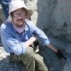 Professor Doug Boyer in the field